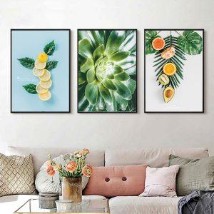 Bộ tranh trái cây 218