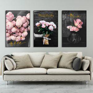 Tranh hoa hồng sv227